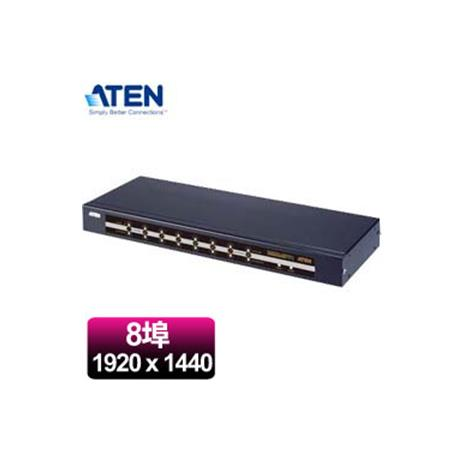 ATEN 宏正 CS78 8埠機架式KVM多電腦切換器