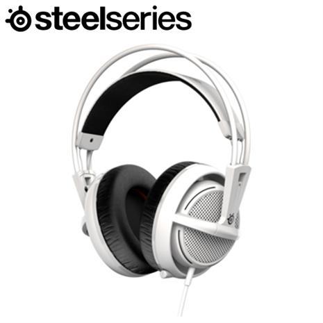 Steelserie 賽睿 Siberia 200 西伯利亞耳機麥克風 白