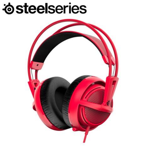 Steelserie 賽睿 Siberia 200 西伯利亞耳機麥克風 紅