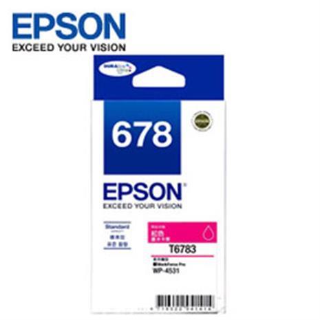 EPSON 原廠紅色墨水匣 T678350 (適用WP-4531,WP-4091)-數位筆電.列印.DIY-myfone購物