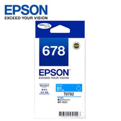 EPSON 原廠藍色墨水匣 T678250 (適用WP-4531,WP-4091)-數位筆電.列印.DIY-myfone購物