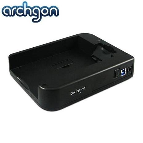 archgon 水平式可堆疊硬碟外接座(MH-3507-U3A)/支援2.5吋與3.5吋SATA I/II/III硬碟-3C電腦週邊-myfone購物