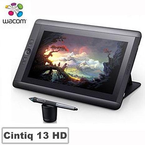 Wacom Cintiq 13 HD 13.3吋手寫專業液晶繪圖板DTK-1300
