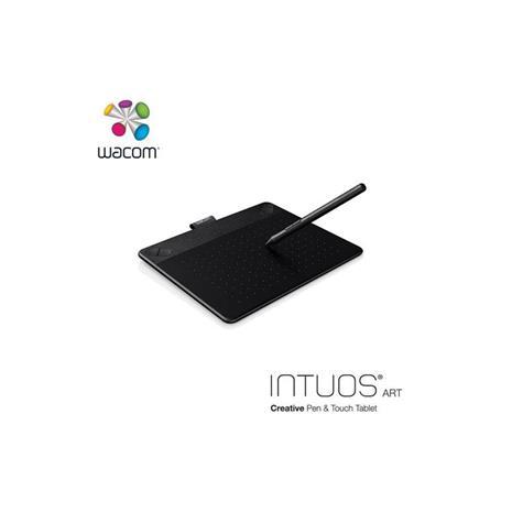 Wacom Intuos Art 藝術創意觸控繪圖板-黑(小)