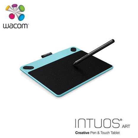 Wacom Intuos Art 藝術創意觸控繪圖板-藍(小)CTH-490