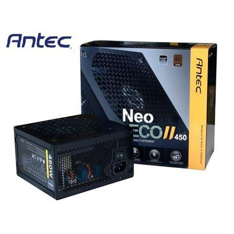 Antec安鈦克 NEO ECO II 450 450W 銅牌認證 電源供應器-數位筆電.列印.DIY-myfone購物