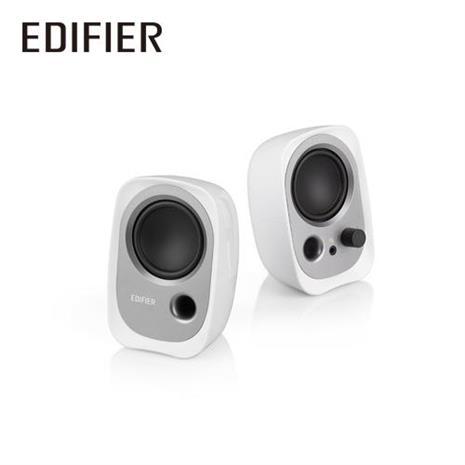 Edifier 漫步者 R12U 2.0聲道二件式喇叭 白