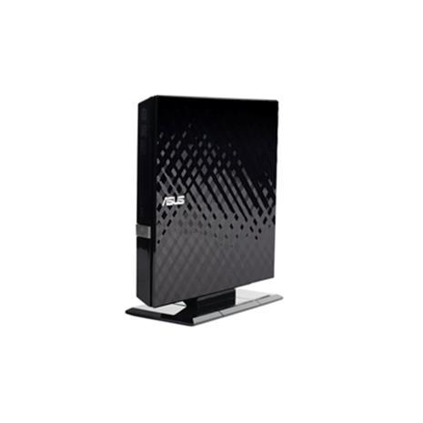 ASUS華碩 外接式超薄DVD燒錄機 SDRW-08D2S 黑