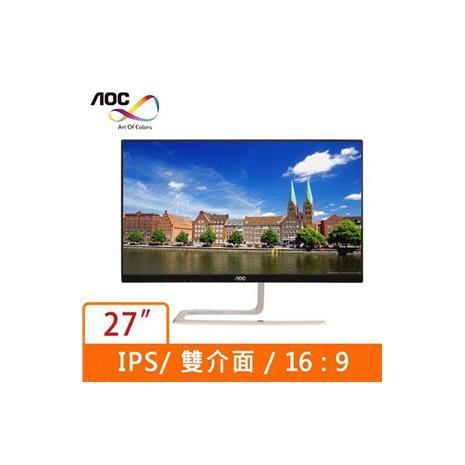 AOC  27型美型廣視角液晶螢幕 I2781FH