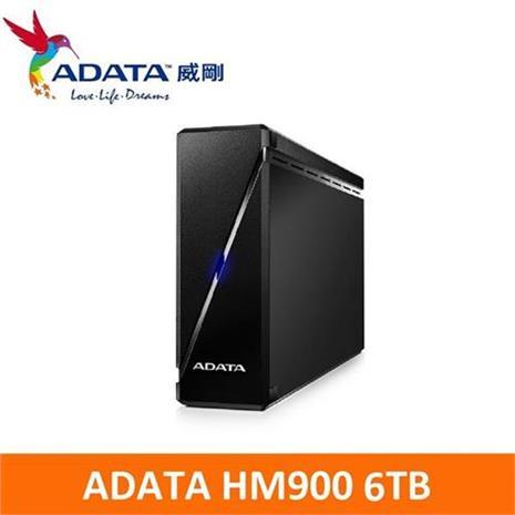 ADATA威剛 HM900 6TB USB3.0 3.5吋 外接硬碟-3C電腦週邊-myfone購物
