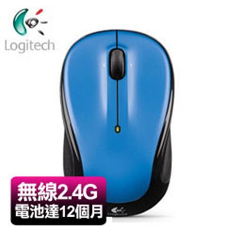 Logitech羅技 M325 2.4G無線滑鼠 藍色(2.4G/光學技術/Unifying)