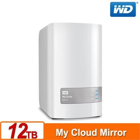 WD My Cloud Mirror(Gen2) 12TB(6TBx2) 雲端儲存系統