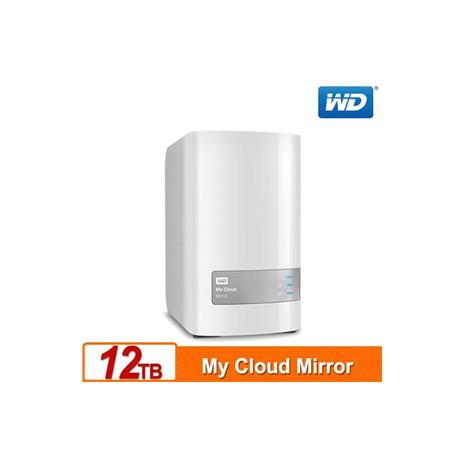 WD My Cloud Mirror(Gen2) 12TB(6TBx2) 雲端儲存系統