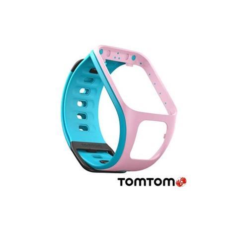TomTom  SPARK 時尚錶帶 細錶帶 (粉藍.橙色)