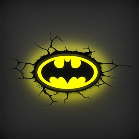 MARVEL復仇者聯盟 3D夜燈-蝙蝠峽logo
