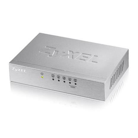 ZyXEL 5埠桌上型高速乙太網路交換器 ES-105A V3