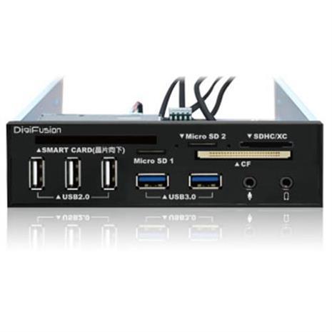 伽利略 5.25吋多介面整合器 (ATM讀卡機/USB 2.0+3.0 HUB/AUDIO)