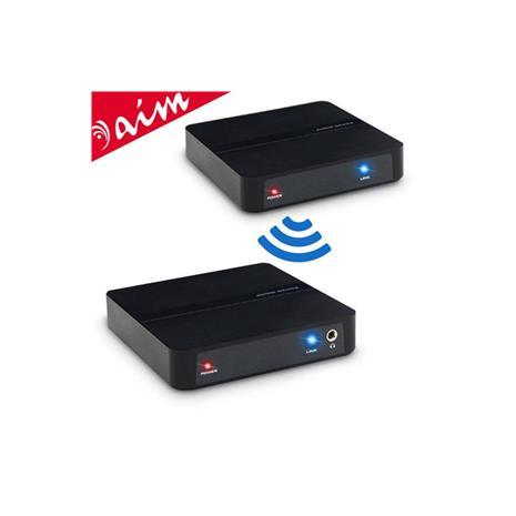 Aim 2.4G遠距無線音源傳輸接收套件組