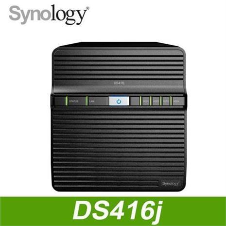 Synology DS416j 網路儲存伺服器