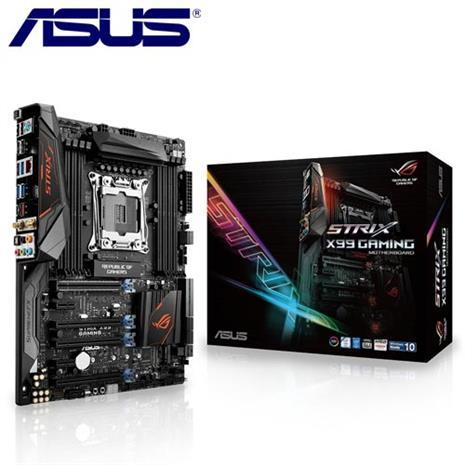 ASUS華碩 STRIX X99 GAMING 主機板-數位筆電.列印.DIY-myfone購物