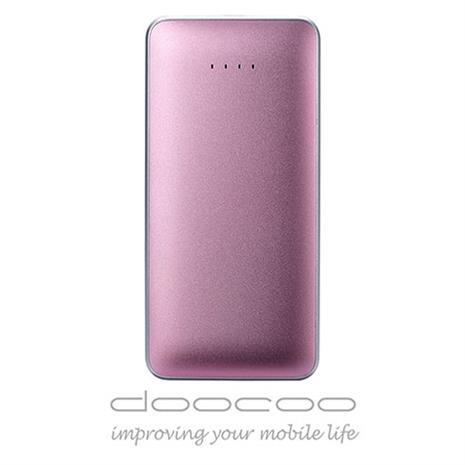 doocoo iPuff 7000 智能行動電源 - 日本Maxell電芯 (支援快速充放電) - 粉紅色