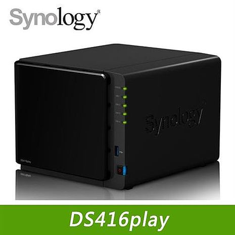 Synology 群暉 DS416Play 4Bay網路儲存伺服器