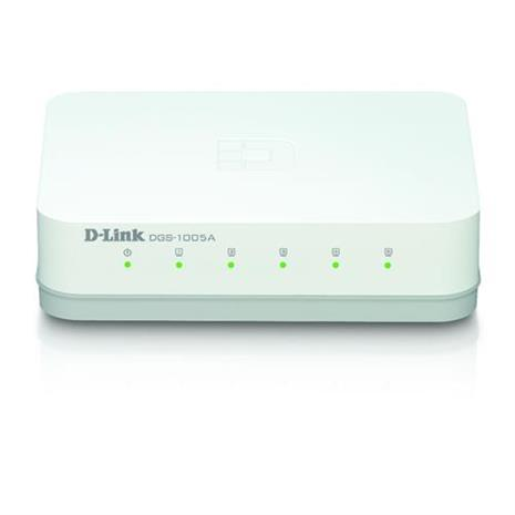 D-Link友訊 DGS-1005A 5埠 桌上型網路交換器