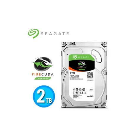 Seagate FireCuda Desktop SSHD 3.5吋 2TB 桌上型固態混合式硬碟機