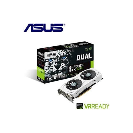 ASUS華碩 GeForceR DUAL-GTX1070-O8G-GAMING 顯示卡