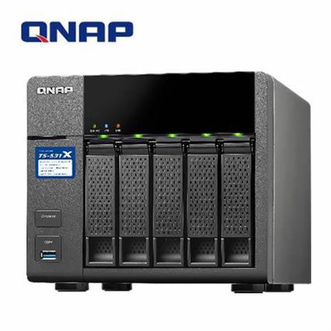 QNAP威聯通 TS-531X-2G 5Bay網路儲存伺服器