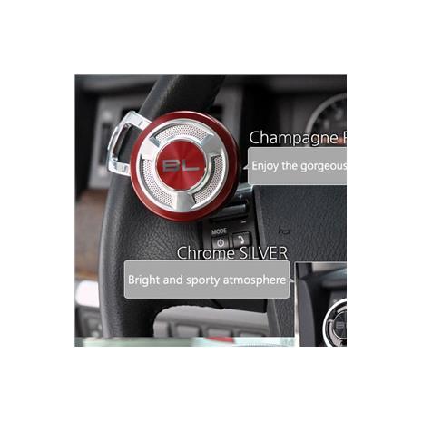 【預購】韓國FOURING BL 高質感汽車方向盤輔助器(紅色) DA752