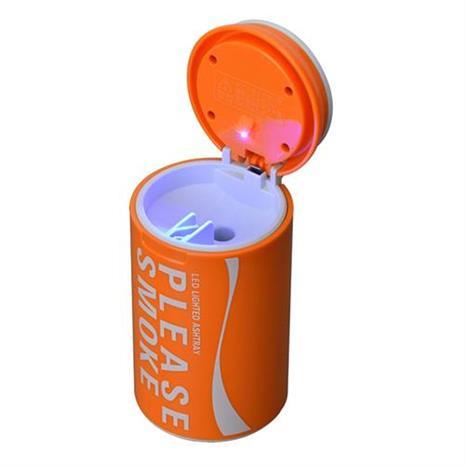 【預購】日本SEIWA 亮彩煙灰罐(橘) W888