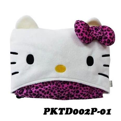 【預購】Hello Kitty 豹紋系列 車用披肩毯 PKTD002P-01