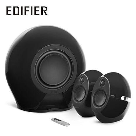 Edifier e235 漫步者 2.1聲道無線喇叭 曜石黑(藍牙/光纖/THX認證)