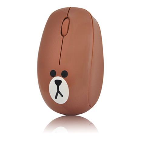 Line Friends 熊大 2.4G 無線滑鼠