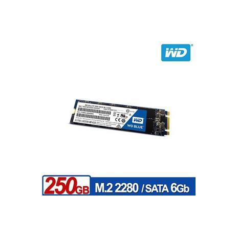 WD SSD 250GB M.2 2280 SATA 固態硬碟(藍標)