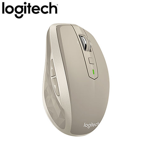 Logitech 羅技 MX Anywhere2 藍牙無線便攜式行動滑鼠 白