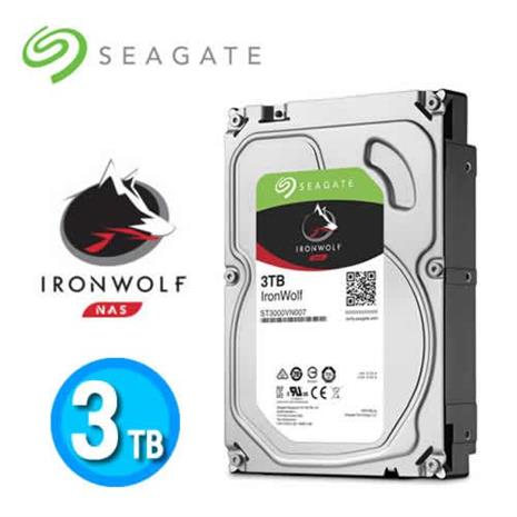 Seagate IronWolf 3TB 3.5吋NAS硬碟 (ST3000VN007)