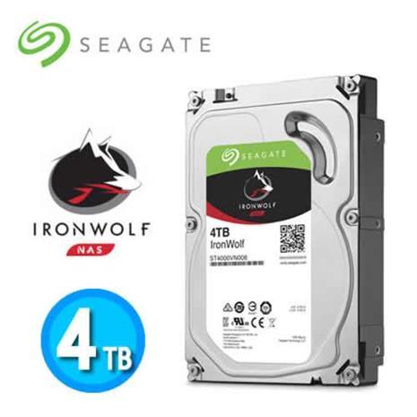 Seagate IronWolf 3.5吋 4TB NAS專用硬碟 (NAS HDD)