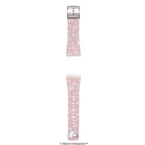 EPSON Smart Canvas Moomin錶帶-粉紅森林