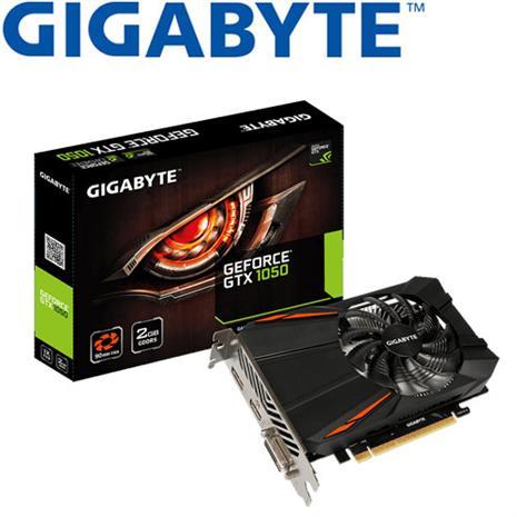 GIGABYTE技嘉 GeForceR GV-N1050D5-2GD 顯示卡-數位筆電.列印.DIY-myfone購物