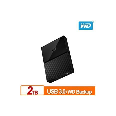 WD My Passport 2TB(黑) 2.5吋行動硬碟(WESN)