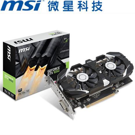 MSI微星 GeForce GTX 1050 2GT OC 顯示卡-數位筆電.列印.DIY-myfone購物