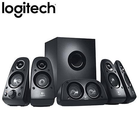 【12月精選-送好禮】Logitech羅技 Z506 5.1聲道喇叭(總功率75瓦/衛星5顆+重低音)