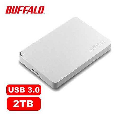 BUFFALO HD-PCF2.0U3WD 2.5吋 2TB -白