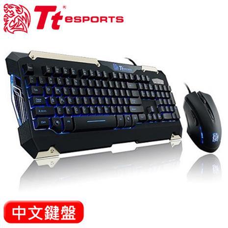 Thermaltake 曜越 軍令官 類機械鍵盤滑鼠組 中文