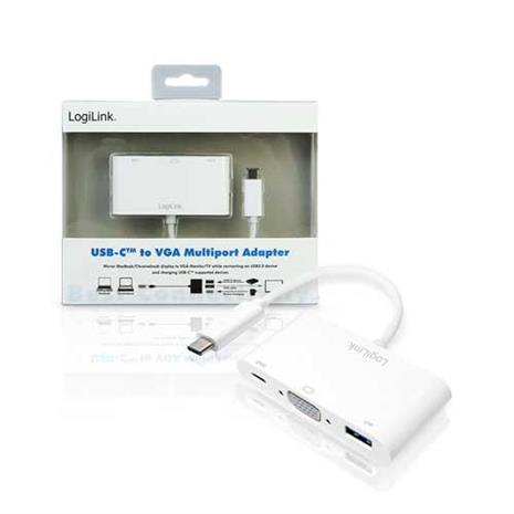 UA0260 USB Type C轉VGA多功能訊號轉換器