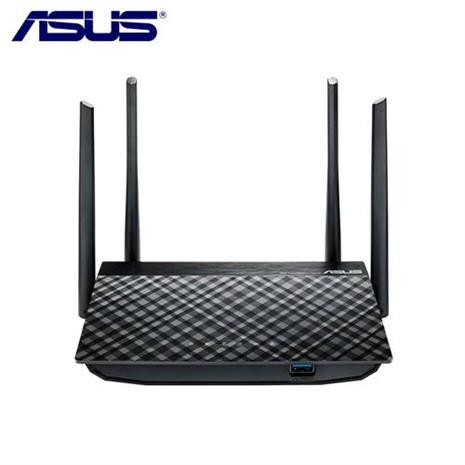 ASUS 華碩 RT-AC1300G+ AC1300 雙頻 Gigabit Wi-Fi 分享器-3C電腦週邊-myfone購物