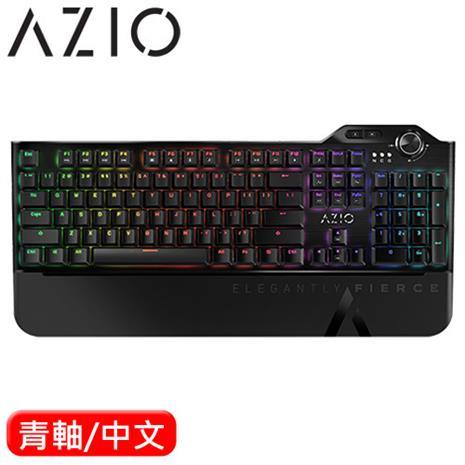 AZIO MGK L80 RGB 電競機械鍵盤 青軸-3C電腦週邊-myfone購物