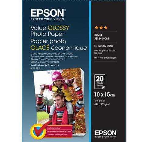 EPSON S400037 4x6 經濟亮面相紙